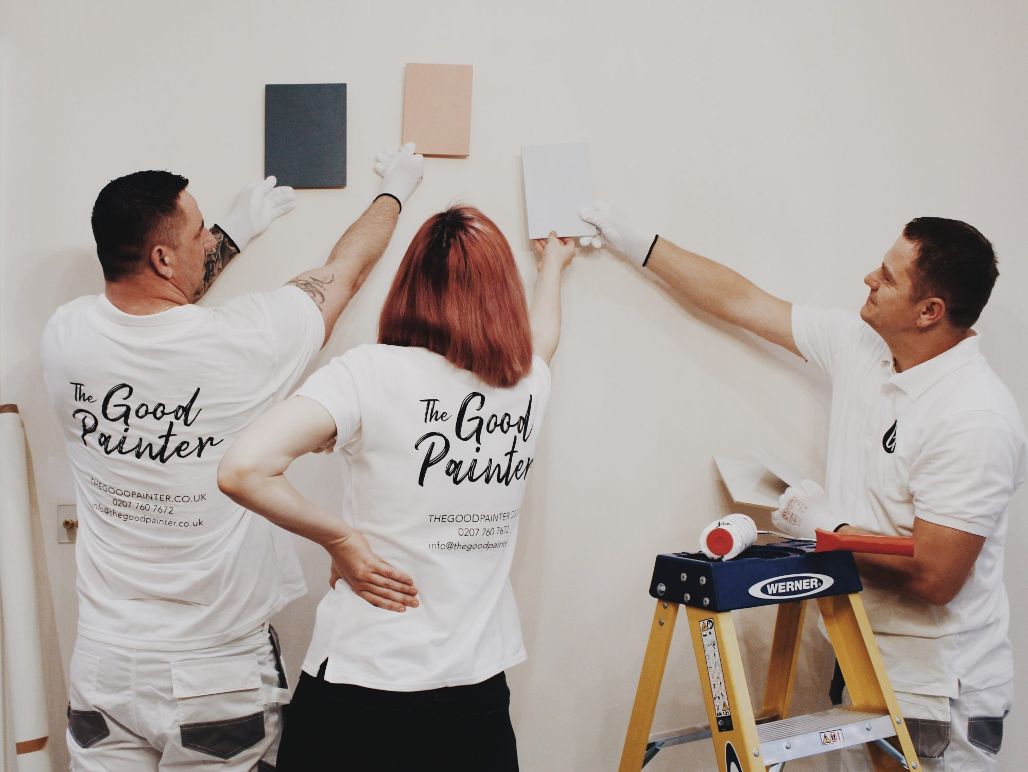 the good painter -choosing the perfect colour combination for a project