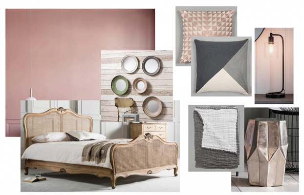 residential painting and decorating services in London: Mood board based on selected paint colour