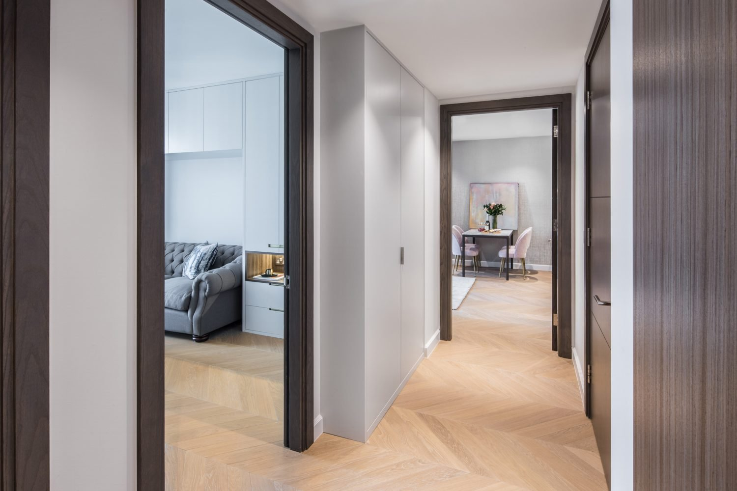 residential painting and decorating services for corridor, westminster, London
