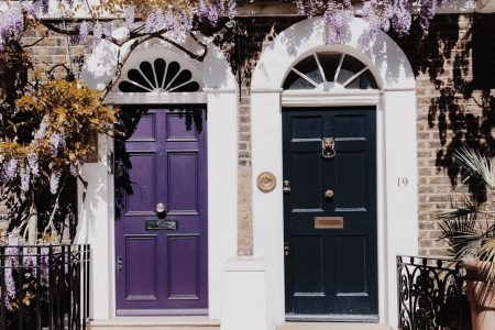 Painting And Decorating A Front Door