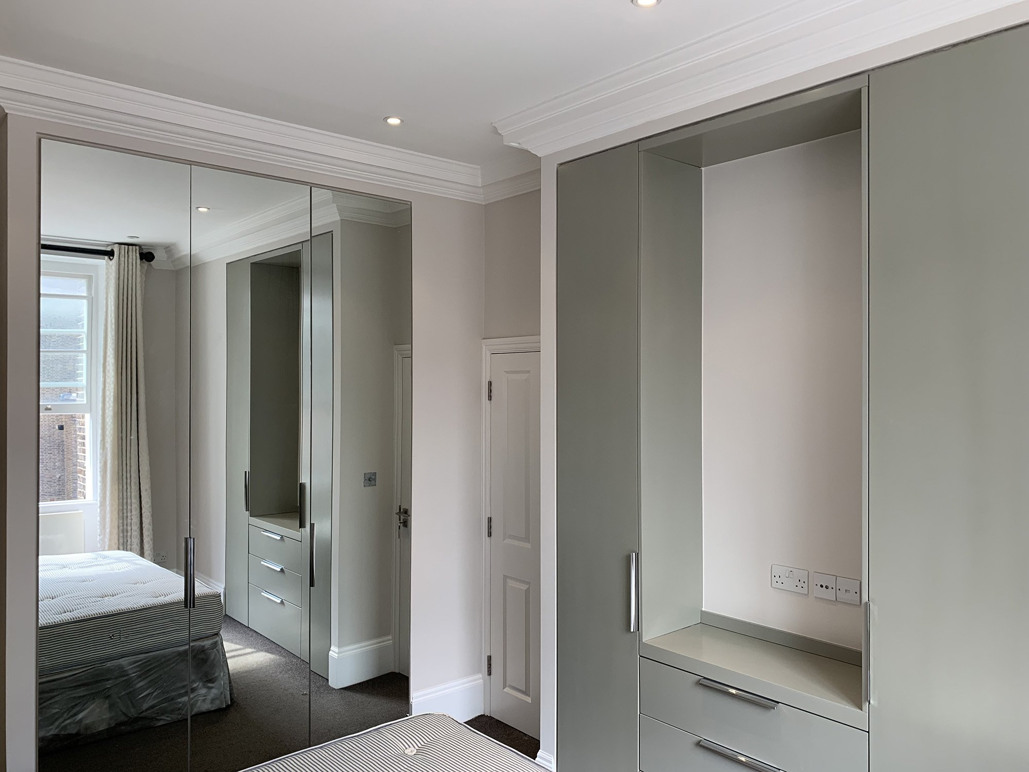 Painting and Decorating a London Investment Property in Paddington - Bedroom