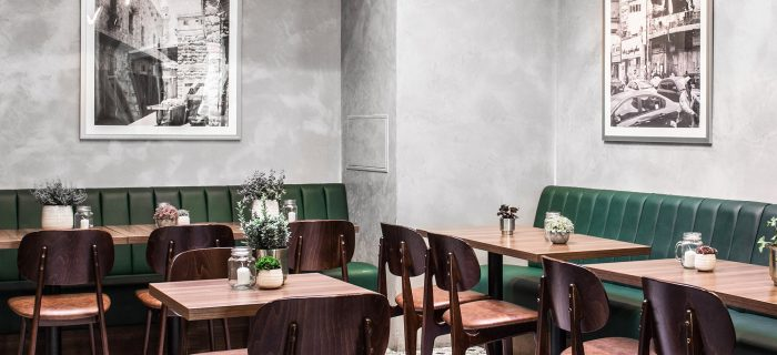 Painting And Decorating A Large International Restaurant In London