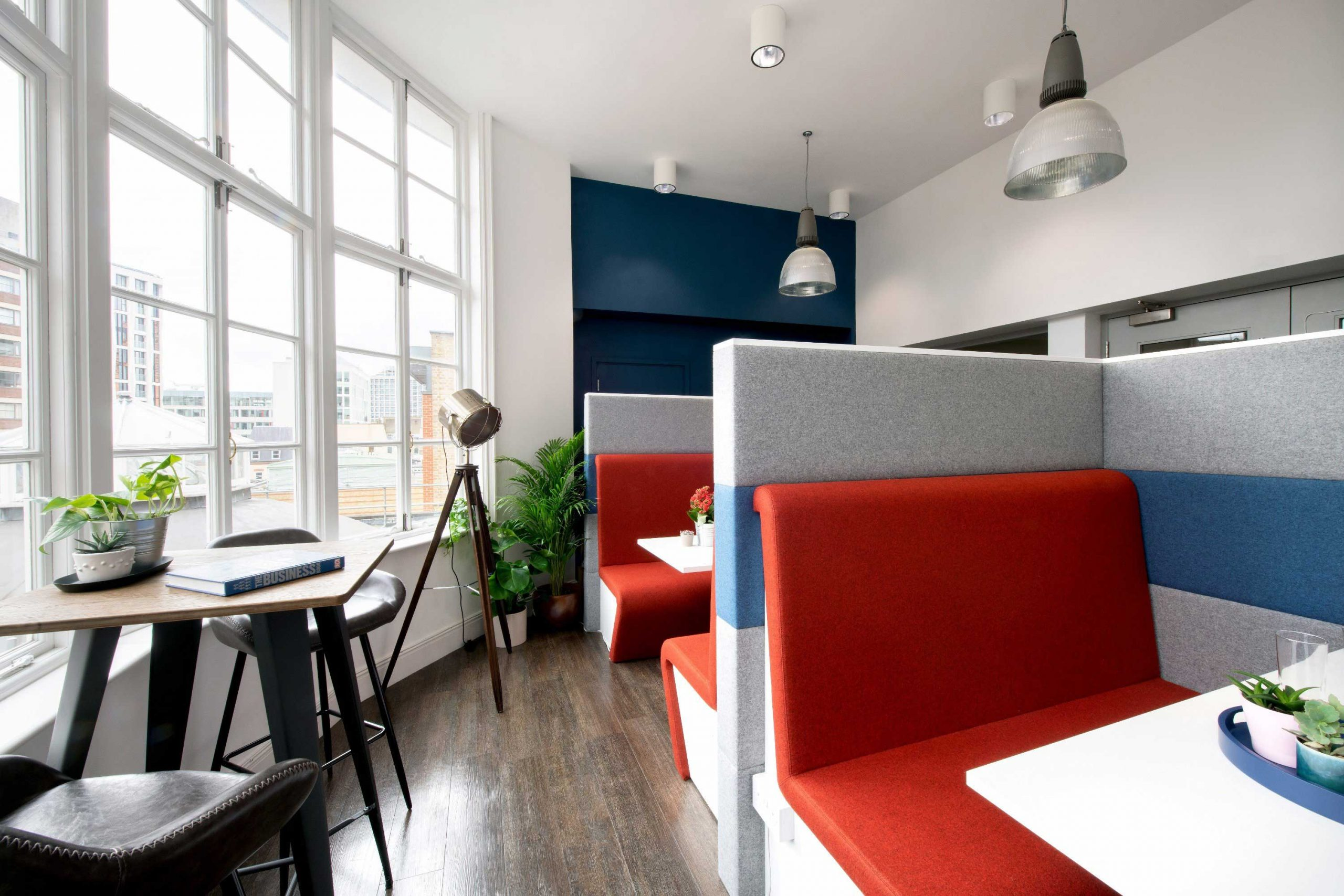Painting and Decorating Large Office in High Holborn