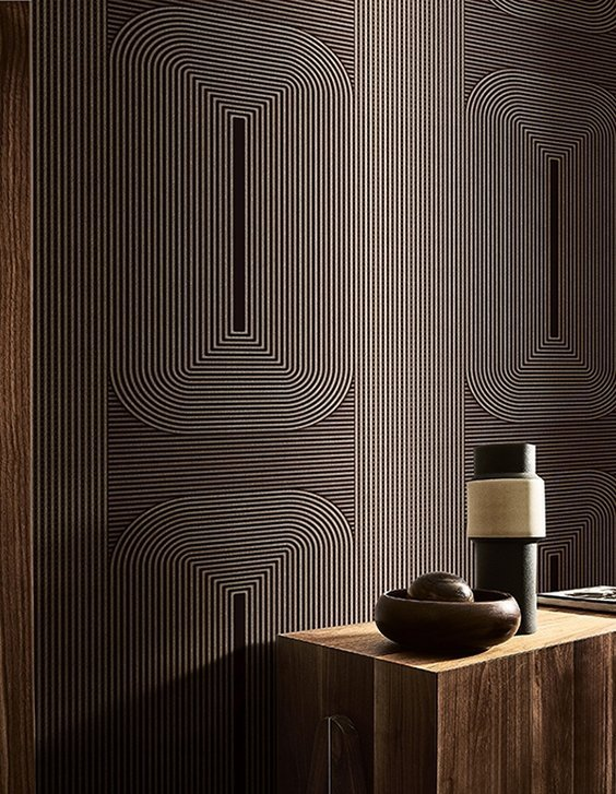 dark wallpaper by Wall & Deco