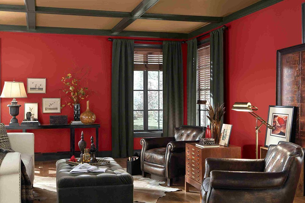 OUR FAVOURITE RED TONE FOR PAINTING AND DECORATING