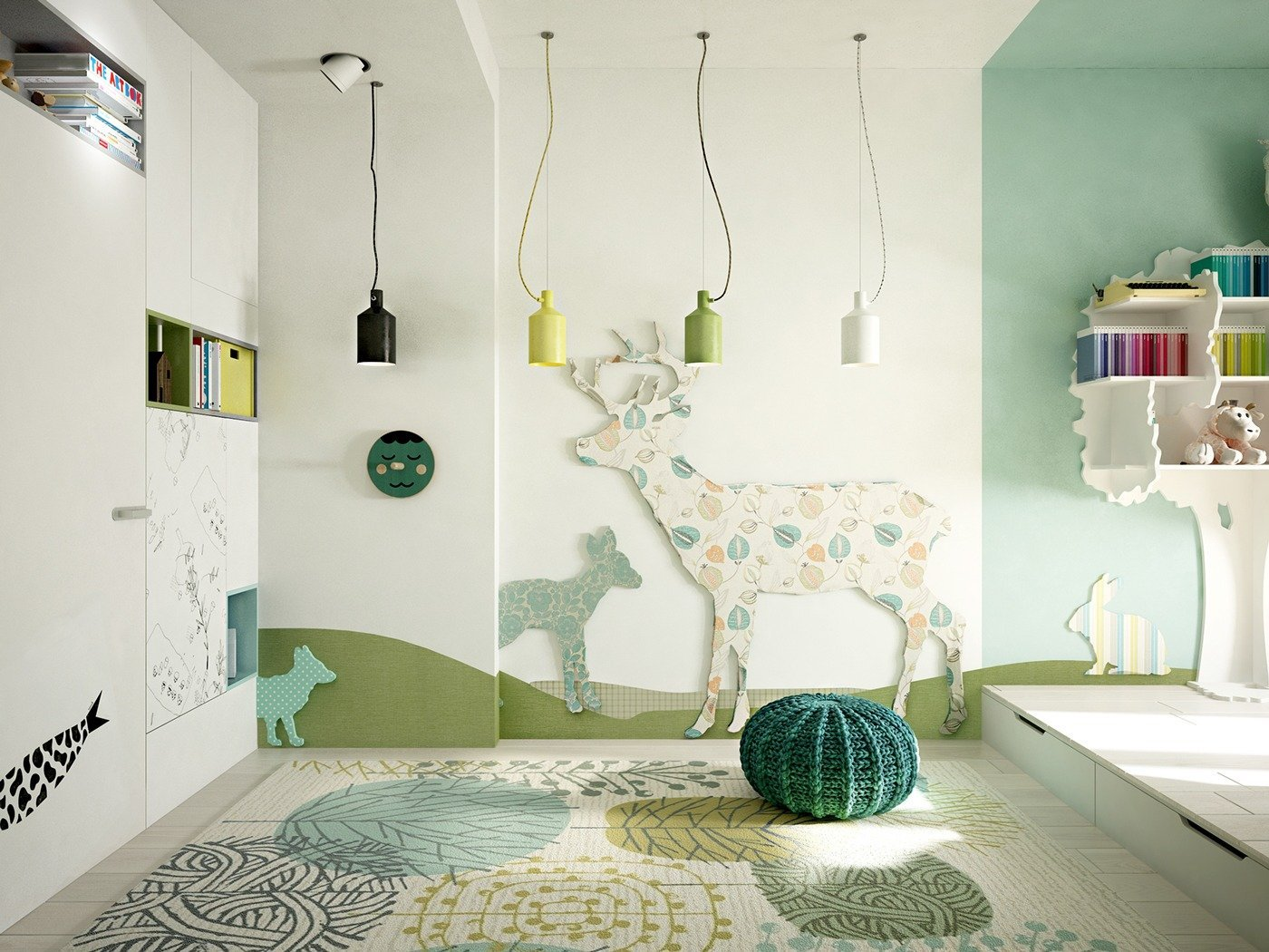 Our favourite paint colours for children's bedroom