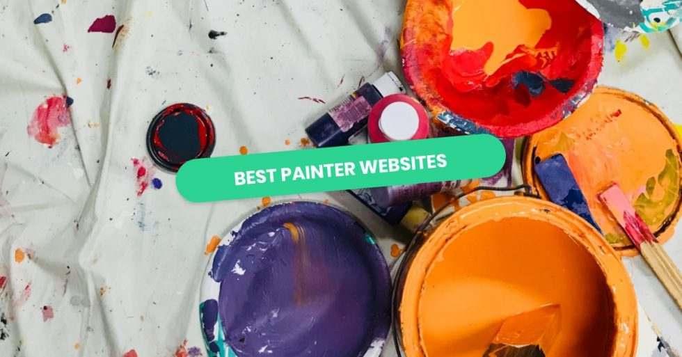 My Codeless Website: Best Painter Websites of 2021 | 10 Inspiring Examples