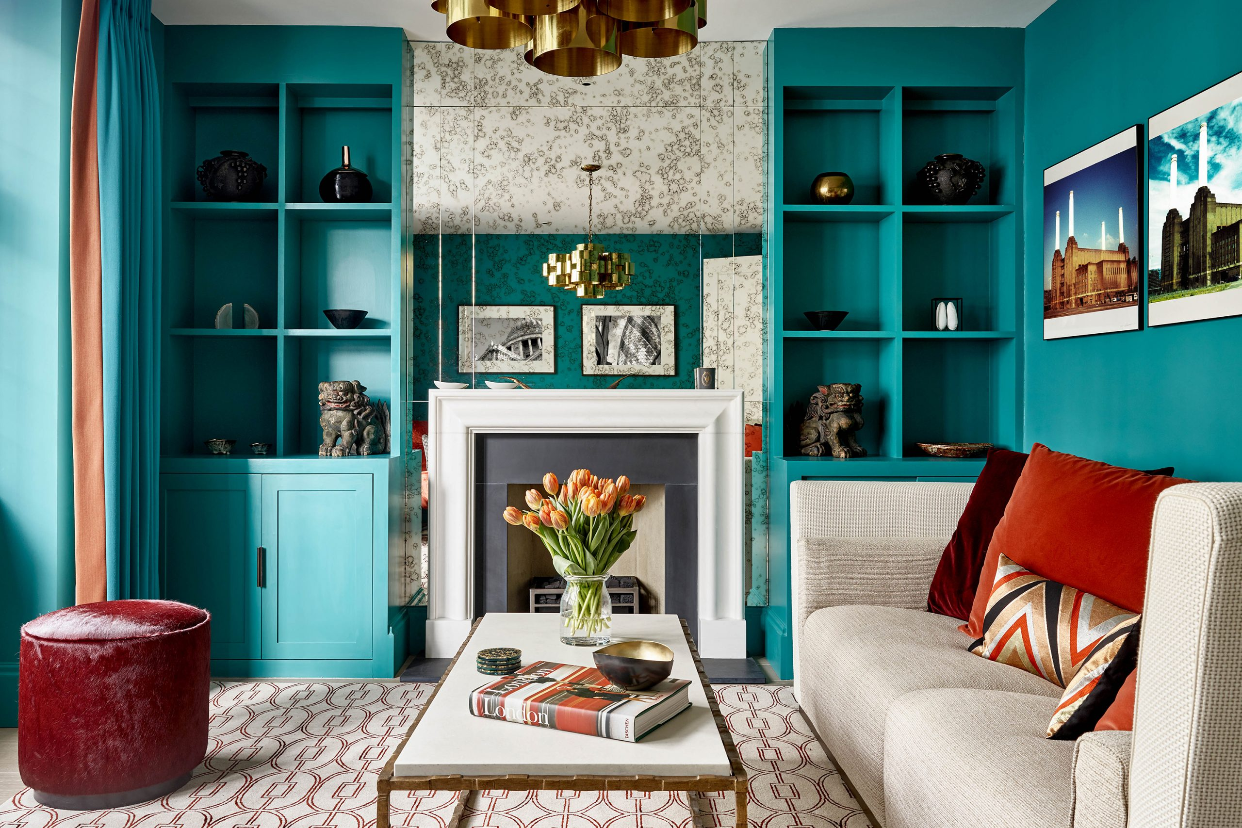 Master the art of every colour scheme through painting and decorating