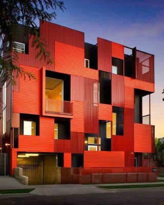 Is this the type of exterior that catches your attention?  ⠀⠀⠀⠀⠀⠀⠀⠀⠀ Formosa1140 by @loharchitects is a powerful residential project that flashes with a vibrant pop of colour and delivers a green, healthy space.  ⠀⠀⠀⠀⠀⠀⠀⠀⠀ A red exterior has got to catch anyone's eye, right?  ⠀⠀⠀⠀⠀⠀⠀⠀⠀ How bold would you go if you had to choose the exterior colour of your home?  . . . . . . . . . . #thegoodpainter #londoninteriordesigner #londonhome #londonproperty #londondesigner #londonpainting #londonapartment #londonhouses #londoninteriordesign #londonpainter #londonpainting #exteriordesign #archisource #greatarchitecture #interiorarchitectureanddesign #archicage#architecturehunter #instaarchitecture #archigram #archilover #architecture_view #archi_features #architecture_magazine #architecturegram #archi_focus_on #architizer #architecturewatch #arch_more#architecturedetail