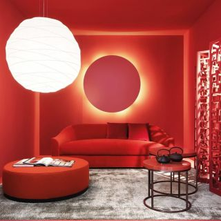 Nothing more vibrant than a red interior! Do you agree?  ⠀⠀⠀⠀⠀⠀⠀⠀⠀ Red is bold, direct and energetic. Ideally painted in commercial spaces and used by maximalists for rooms to make a statement in your home!  ⠀⠀⠀⠀⠀⠀⠀⠀⠀ What @meridiani.livinginteriors does well is incorporate statement lighting to emphasising the boldness of this lively interior.  ⠀⠀⠀⠀⠀⠀⠀⠀⠀ Would you be able to handle a bold room? . . . . . . . . . . #thegoodpainter #londoninteriordesigner #londonhome #londonproperty #londondesigner #londonpainting #londonapartment #londonhouses #londoninteriordesign #londonpainter #londonpainting #redinspiration #redaesthetic #redwall #boldinteriors #redinterior #lighting #redfurniture #lightingdecor #lightingideas #colourfulfurniture #boldfurniture #furnituredesigns #furnitureinspiration #furnitureinspo #furniturepaintiing #furnitureinteriors #moreismoredecor #crashbangcolour #colorismyjam #colourfulinteriors
